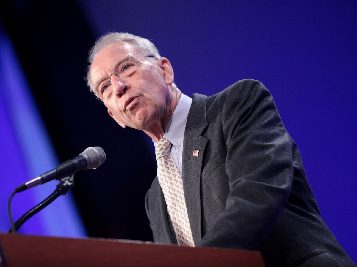 Senator Chuck Grassley Issues Stern Warning About ...